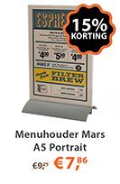 menuhouder mars a5