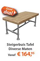 Best Deal steigerbuis tafel