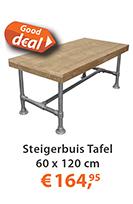 steigerbuis tafel 60x120cm