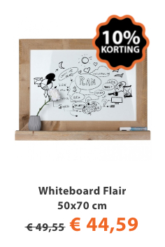 whiteboard flair 50x70cm